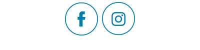 Blue Facebook and Instagram Icons