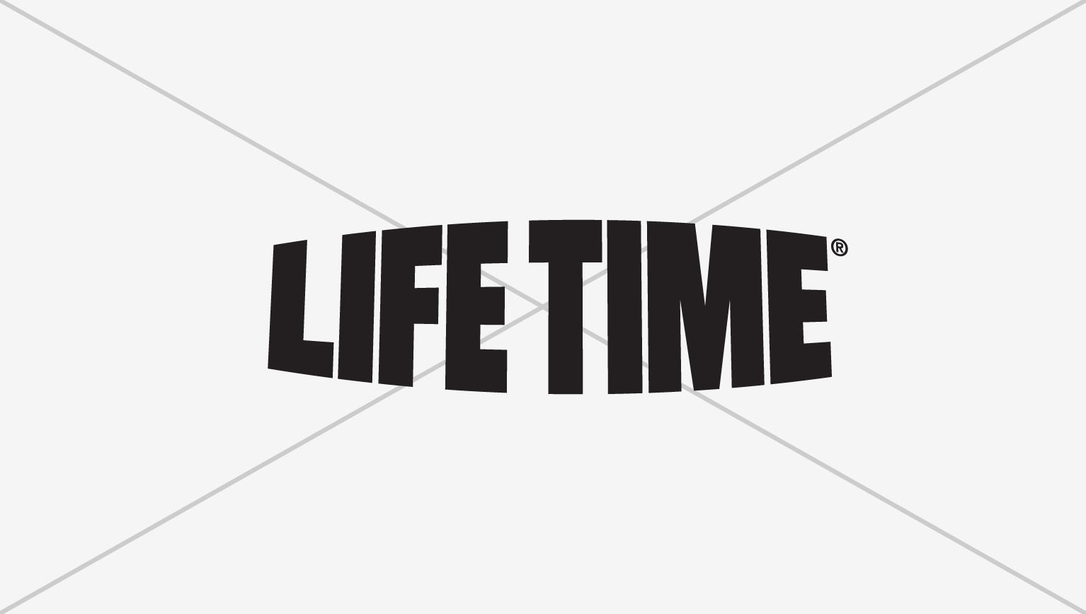 Black Life Time master logo showing how not to alter the logo