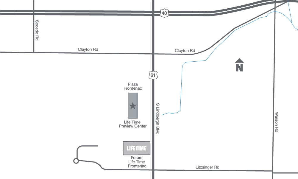 map of frontenac location