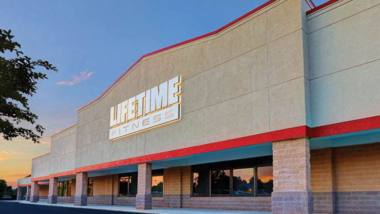 The premier Life Time Fitness club facility in Apex, NC
