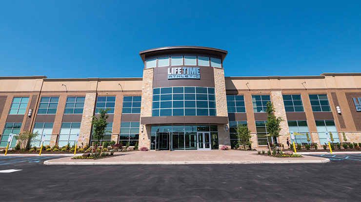 The Life Time Athletic Fort Washington facility, the best gym in Fort Washington, PA