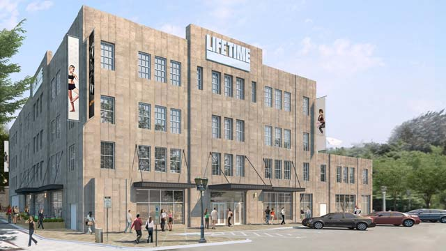 Exterior of the Life Time Athletic Ardmore