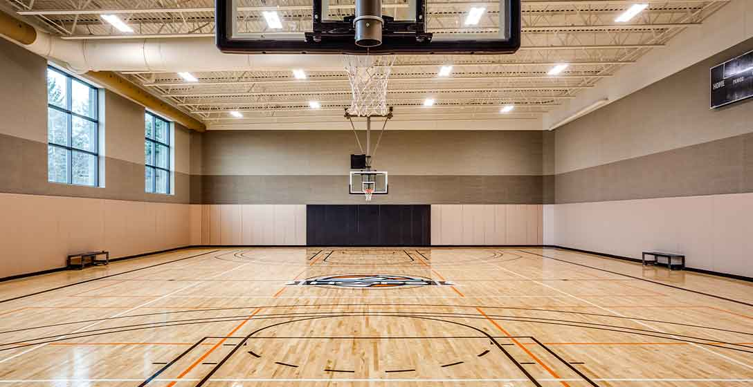 Basketball Court & Gymnasium at Life Time