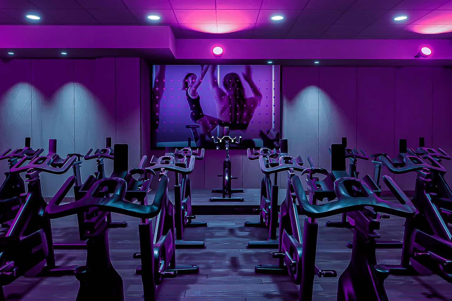 From EDG to AMP, the cycle studio at Life Time 23rd street offers multiple cycle formats.