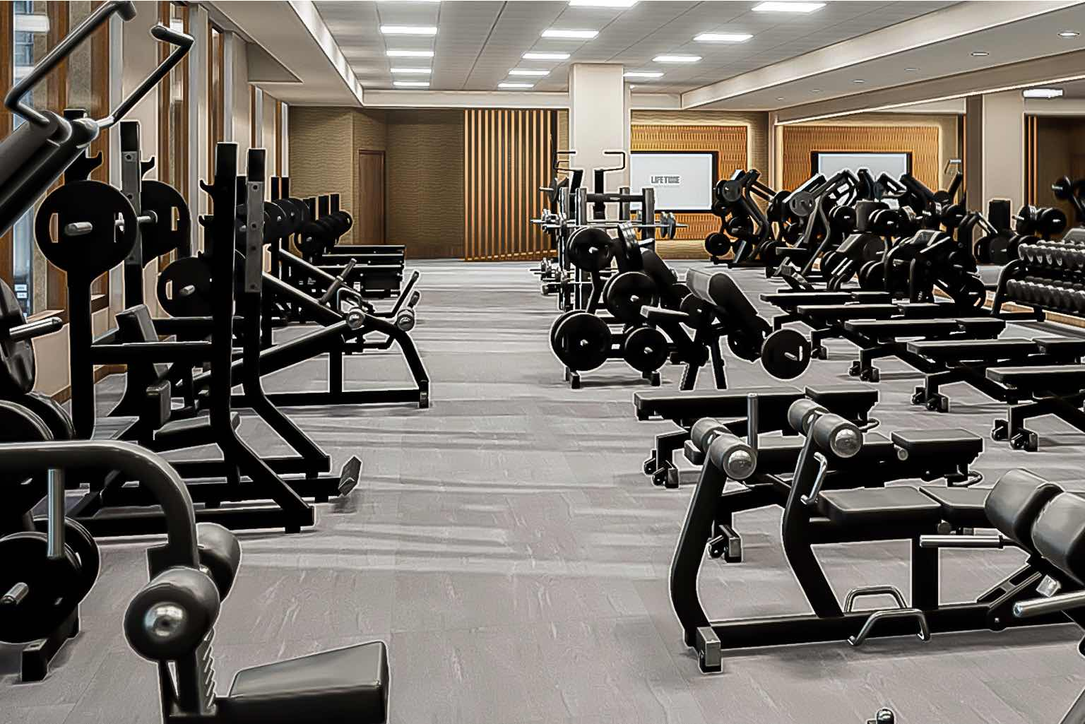 Take your pick of more than 110 brand new Technogym cardio machines.
