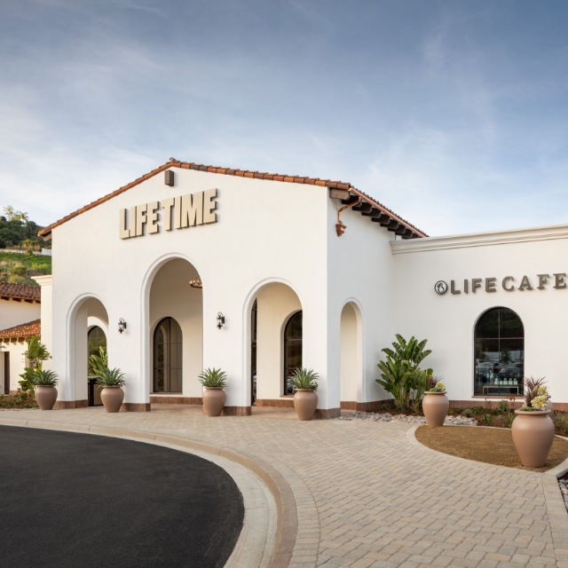 Building exterior at Life Time Rancho San Clemente