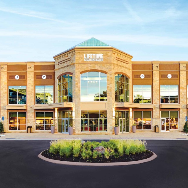 The exterior of Life Time Centennial