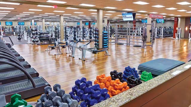 Luxury Health Club And Gym Life Time Tampa