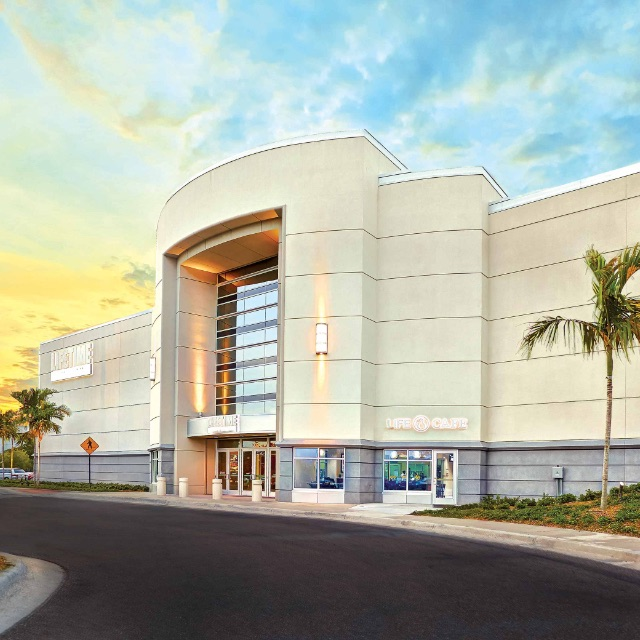 Building exterior at Life Time Tampa