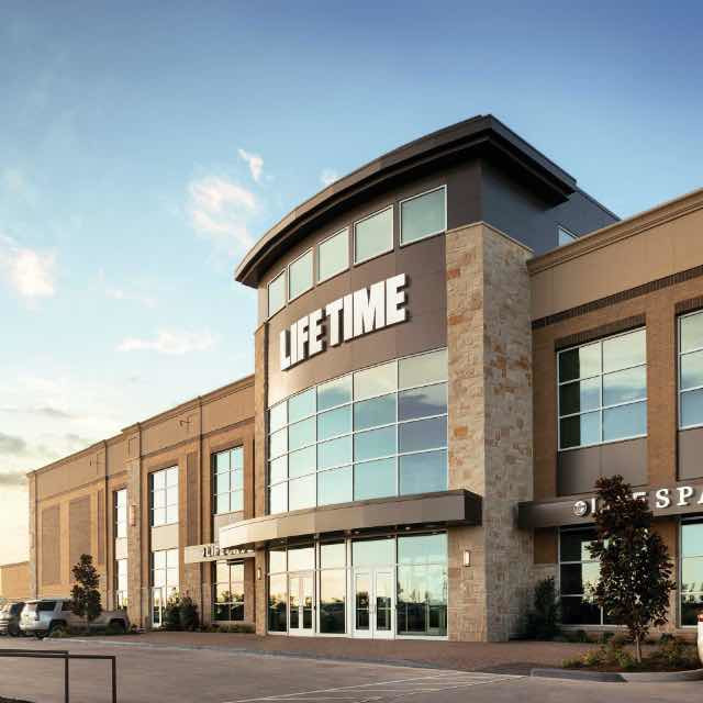 Building exterior at Life Time Vaughan