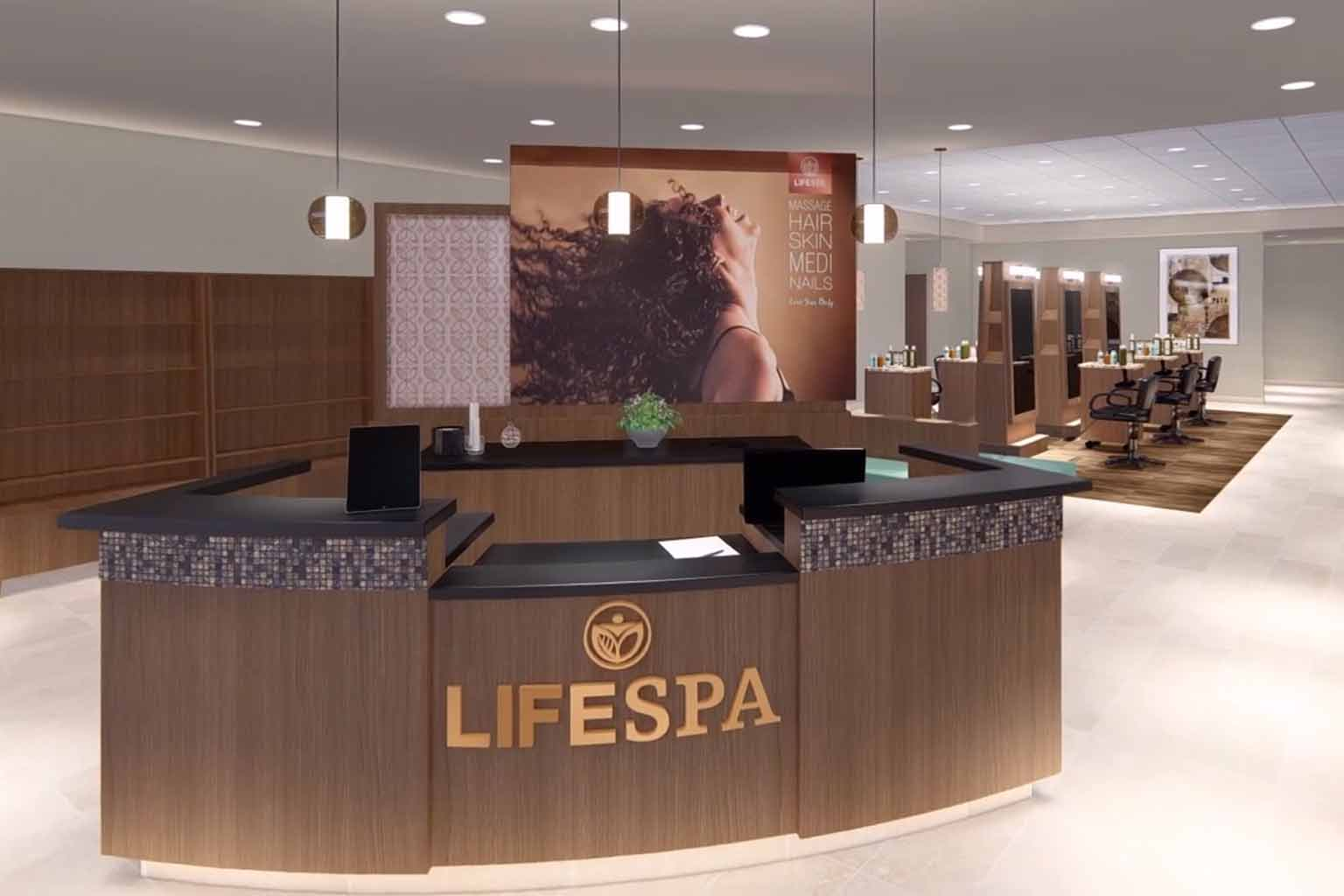 Life Time Greenway Spa