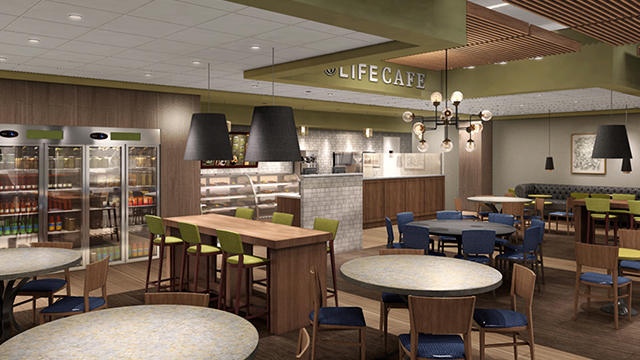 The Life Cafe at Life Time Athletic Bellevue