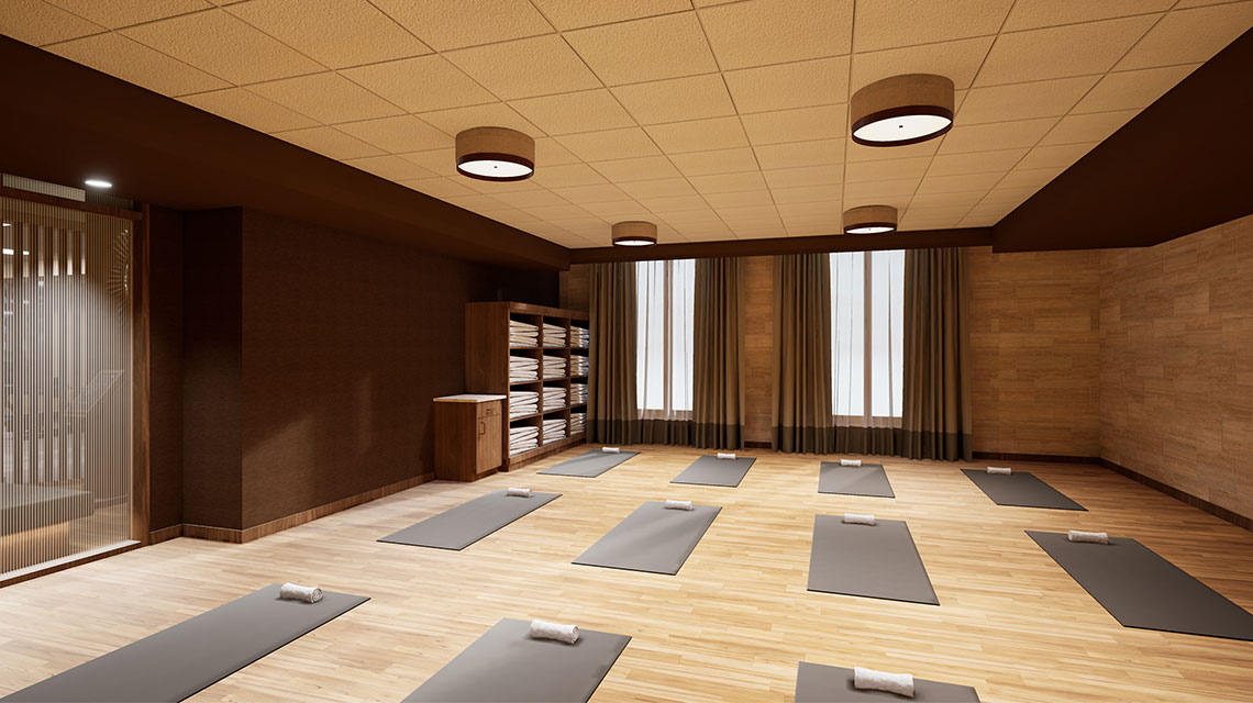 Yoga Studio at Life Time Park Avenue South